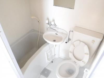 【浴室】フラッグハイツ