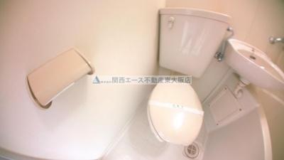 【トイレ】ライラック小阪
