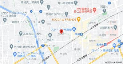 【地図】ユーハイツ千 (株)Roots