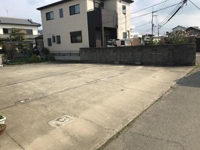 【外観】【売地】有功中学校区・56500