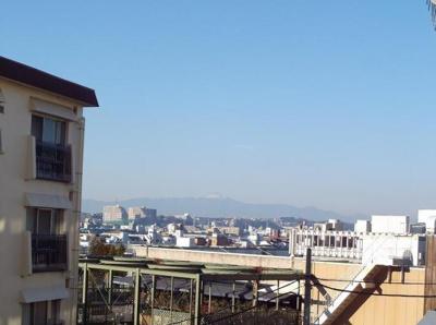 晴天時には富士山も一望できます!