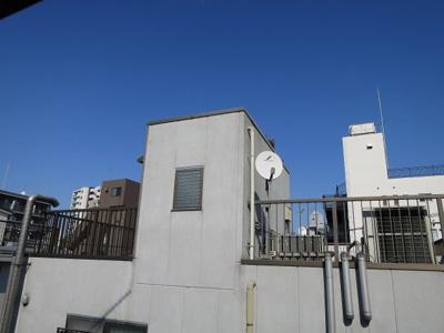 洋室2の眺望です 「青山ビル」のお問い合わせは株式会社メイワ・エステートへ