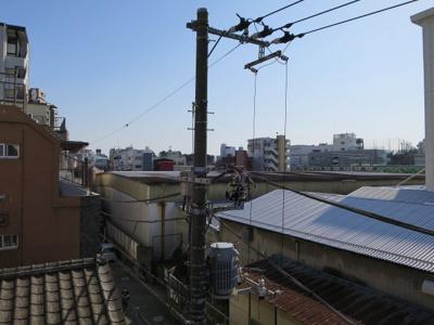 バルコニーからの眺望です 「青山ビル」のお問い合わせは株式会社メイワ・エステートへ