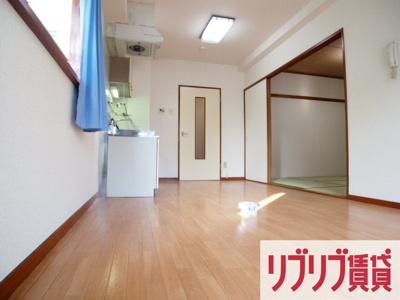 【居間・リビング】ハイツウステリア