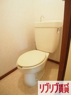 【トイレ】ハイツウステリア