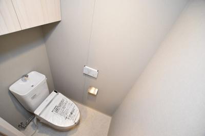 【トイレ】クレヴィアタワー大阪本町