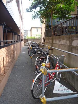 入居者用の駐輪場