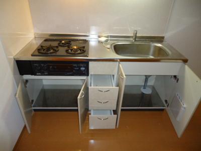 【キッチン】アプト庄内緑地 Ⅰ棟(APT庄内緑地)