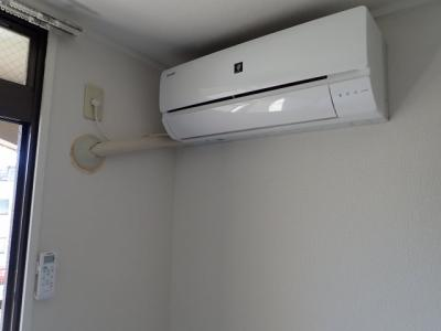 新品エアコン取付け済みです♪