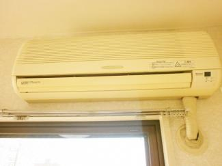 エアコン付きです。ロイヤルヒルズ石室