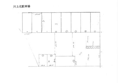 【区画図】川上北駐車場