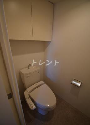 【トイレ】クレジデンス東銀座