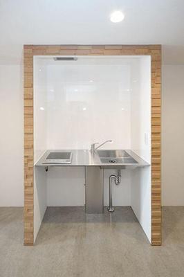 ピース・スクエア住吉 シンプルで使いやすいキッチンです