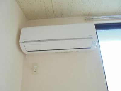 エアコン付き(写真はイメージです)