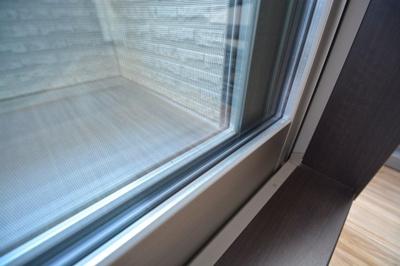 ここもチェック頂きたい!防犯・防露・防音効果のあるペアガラス採用です。