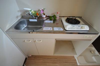 きれいなキッチンです※写真は102号室のものです。現況優先