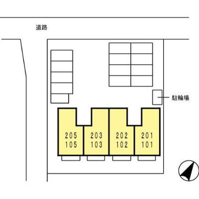 【区画図】グランシャリオⅢ