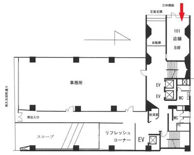 【外観】大阪市中央区久太郎町2