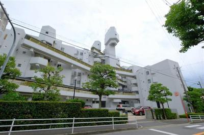 【外観】千里山ロイヤルマンションA棟