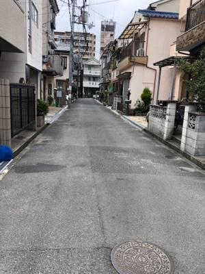 【前面道路含む現地写真】寝屋川市田井西町 売土地