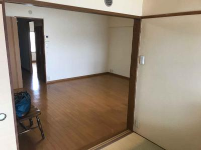 【居間・リビング】関目グリーンハイツB棟