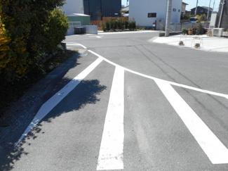 木更津市中野 土地 袖ヶ浦駅 一部6m公道に面しております。お車の出し入れも楽々できます!