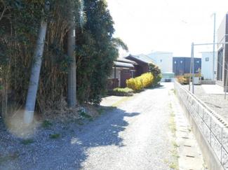 木更津市中野 土地 袖ヶ浦駅 2項道路に面しており、セットバック後4m幅員になります!