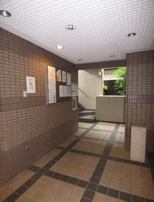 【ロビー】ライオンズマンション渋谷本町