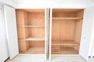 【戎フルール谷九】十分な収納スペースがあります