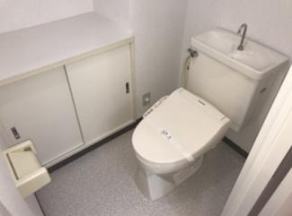 【戎フルール谷九】トイレです