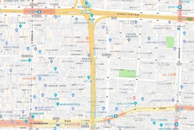【地図】フォルトゥーナ南久宝寺