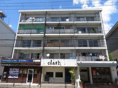 【外観】栄町団地 D棟