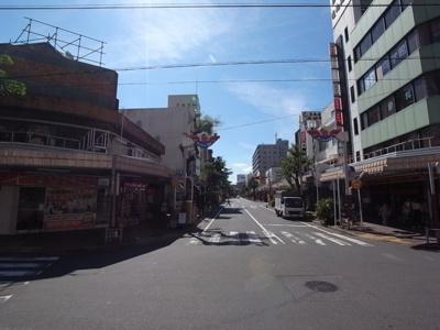 昭和チックな商店街が魅力です