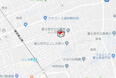 【地図】レオパレストルワジエーム(39634-103)