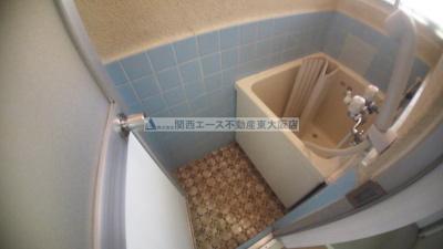 【浴室】オオムラハイツ
