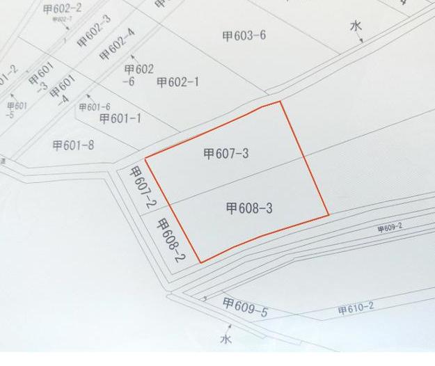 【区画図】大津甲