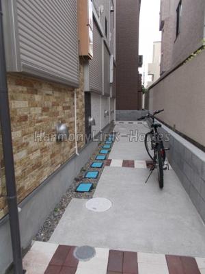 ハーモニーテラス高松の駐輪スペース☆
