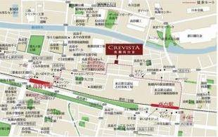 【地図】クレヴィスタ板橋西台Ⅲ