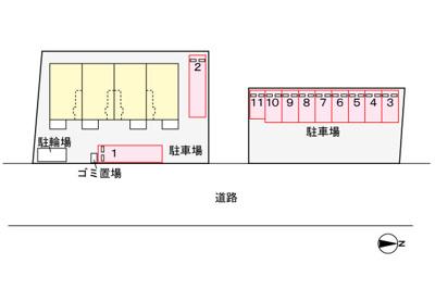【区画図】ラウレアC