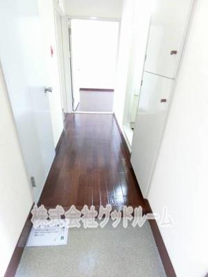 【玄関】京王山田マンションC棟
