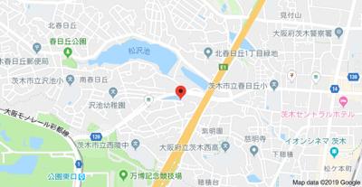 【地図】坂本ハイツ