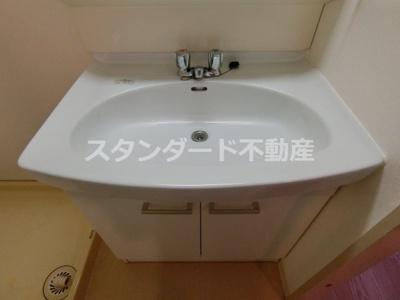 【独立洗面台】メゾンエルミタージュ