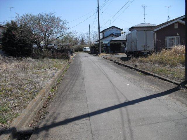 【前面道路含む現地写真】小美玉市羽鳥土地