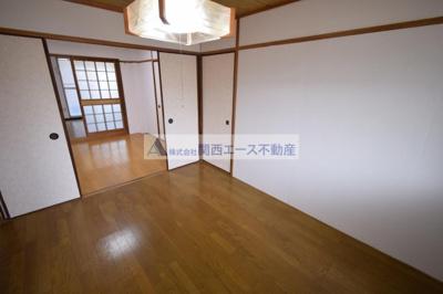 【寝室】ゆきみマンション