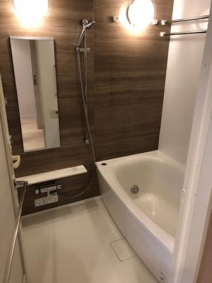 【浴室】シャリエ鶴見緑地エルグレース
