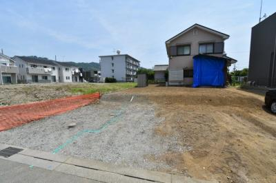 【外観】小田原市国府津 建築条件なし土地