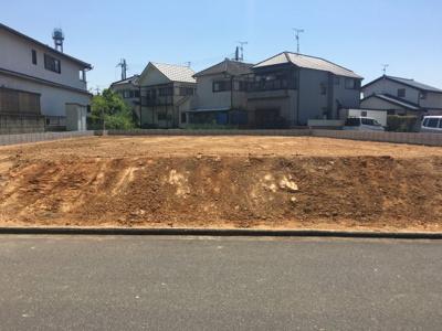 【前面道路含む現地写真】加古川市山手2丁目②号地