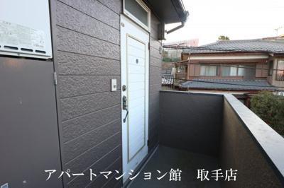 【玄関】取手ハイツ