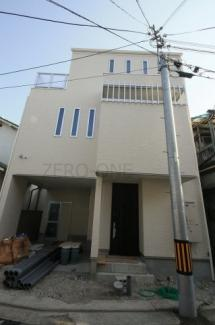 堺市西区下田町 新築一戸建て 使いやすい間取りです 防犯カメラも設置済