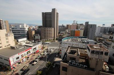 11階建の10階部分になるので、眺望良好です。